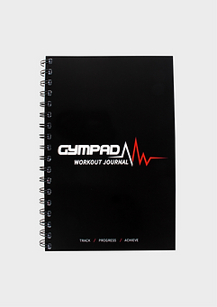 GymPad  Workout Journal Black
