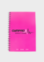 GymPad Workout Journal Pink