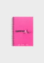 GymPad Mini Workout Journal Pink