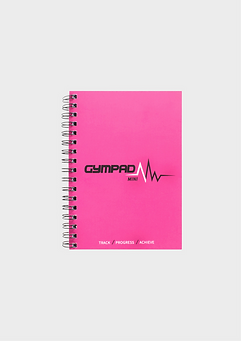 GymPad Mini Workout Journal Pink