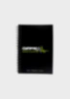 GymPad Nutritional Journal Black