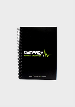 GymPad Nutritional Journal Black