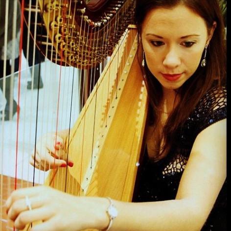 Harp at L'Occitane Gig