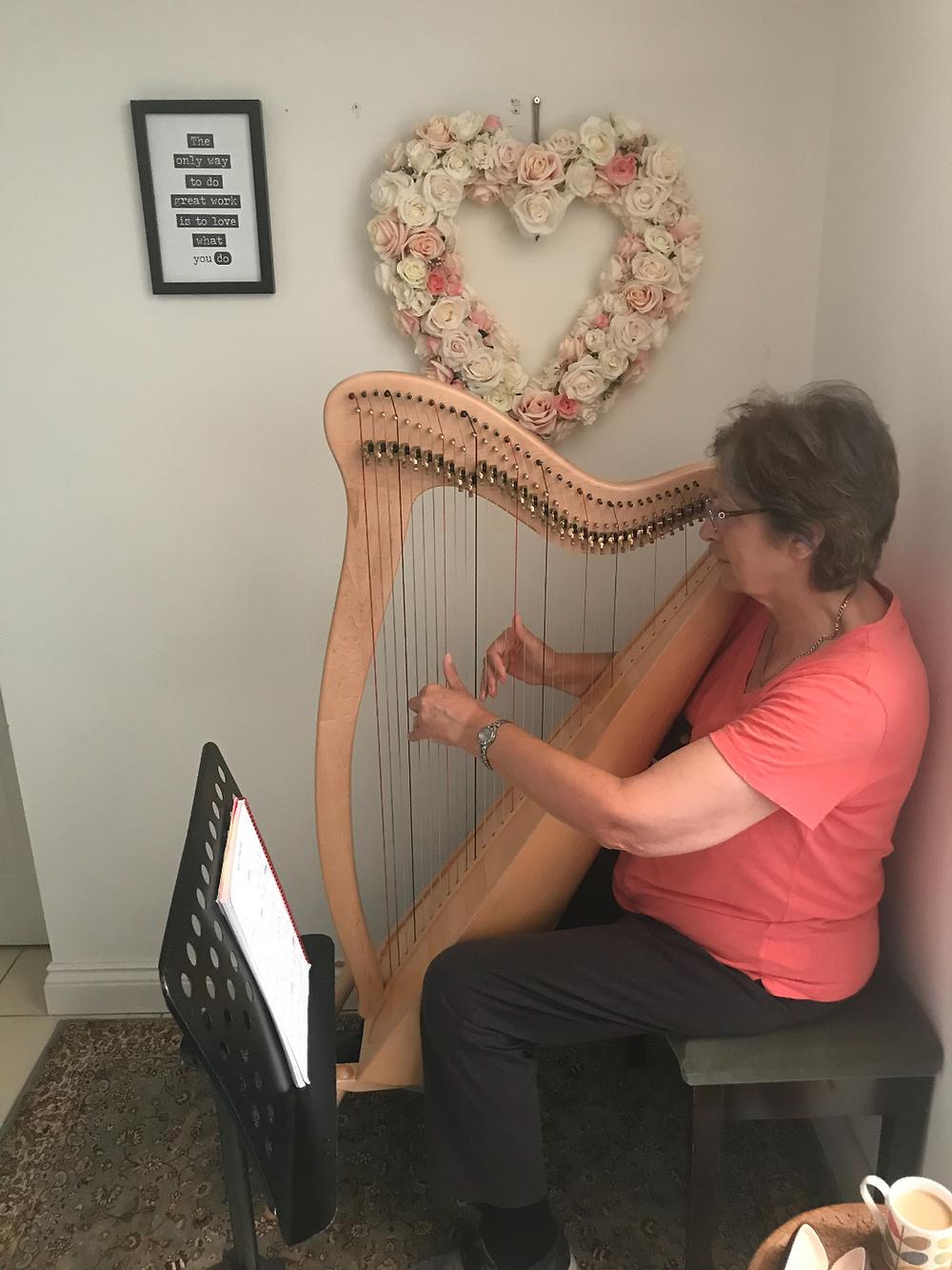 Teaching the Harp