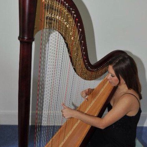 Bethan and Harp
