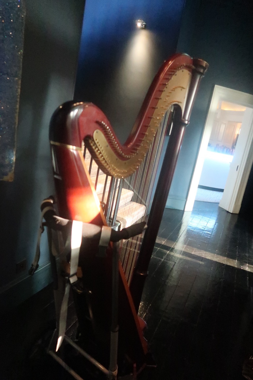 Packing Up The Harp