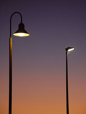 Street Light Control and Dimming