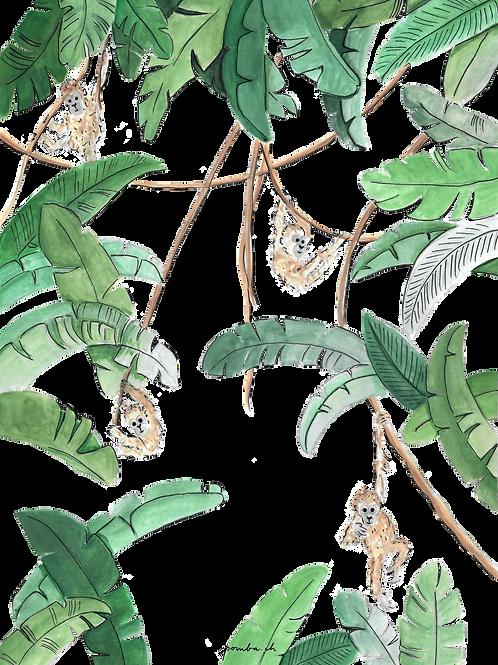 Affenbande (2020) von Pomba