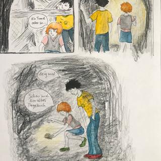 Entdeckung einer Höhle