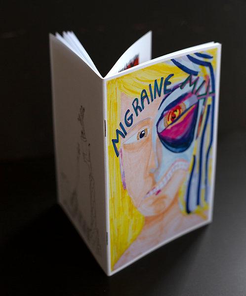 """Zine """"MIGRAINE"""" von Sapir Kesem Leary"""