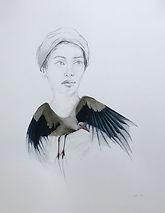 Bleistift , Aquarell Collage auf Papier, 23x31cm.jpeg