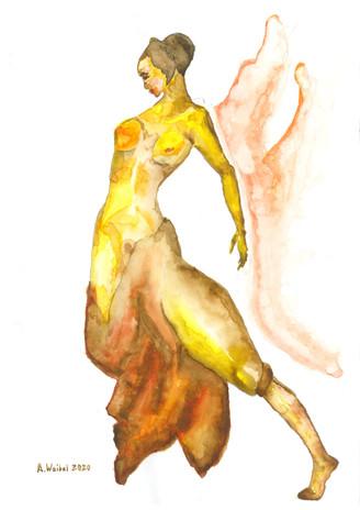 Gelber Tanz
