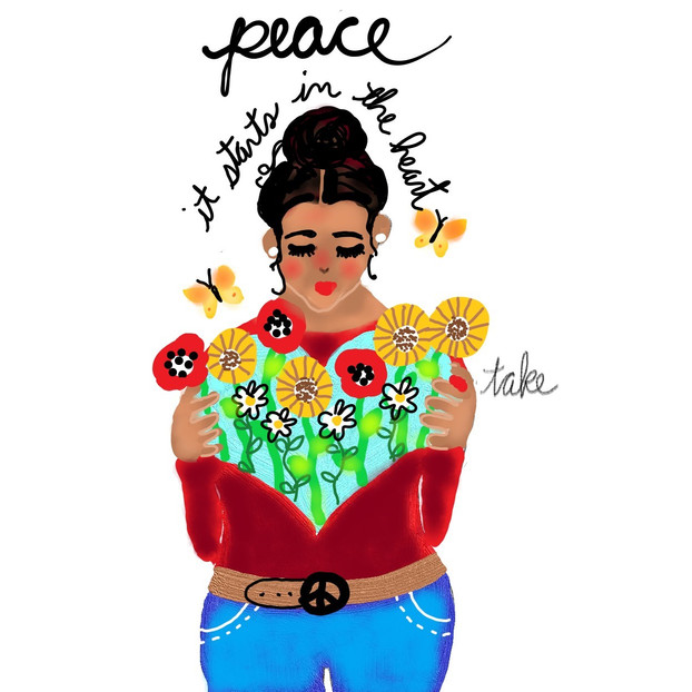 peace illustration (08.01.2019)
