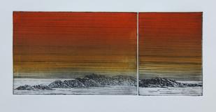 Landschaft I (2013) von Angela Mastaglio