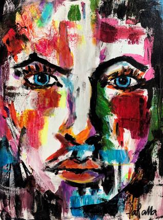 ArtNight Abstract Portrait