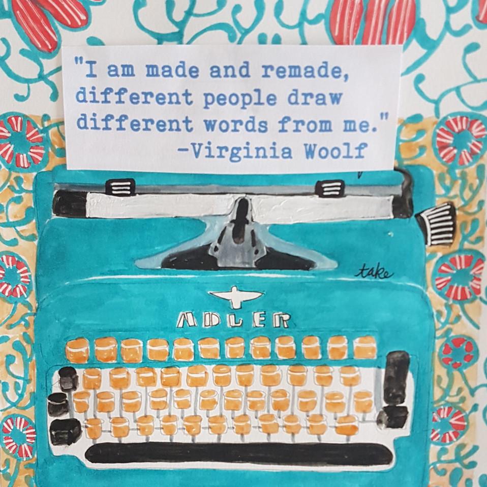 typewriter illustration (13.05.2020)