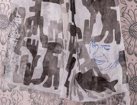Marianne's Diary/ Detailansicht Magdolnas Mantel