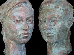 Seraphinas. Skulptur von Annemarie Waibe