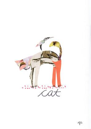 Yoga Cat (2019) von guckschatz