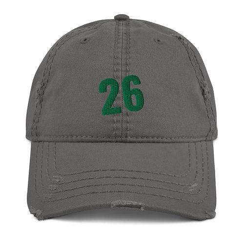 26 Distressed Dad Hat