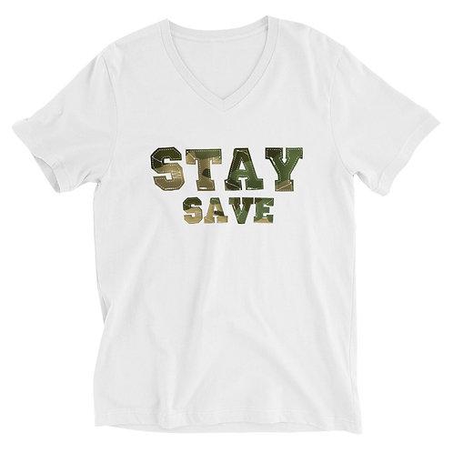 Stay Save V-Neck T-Shirt