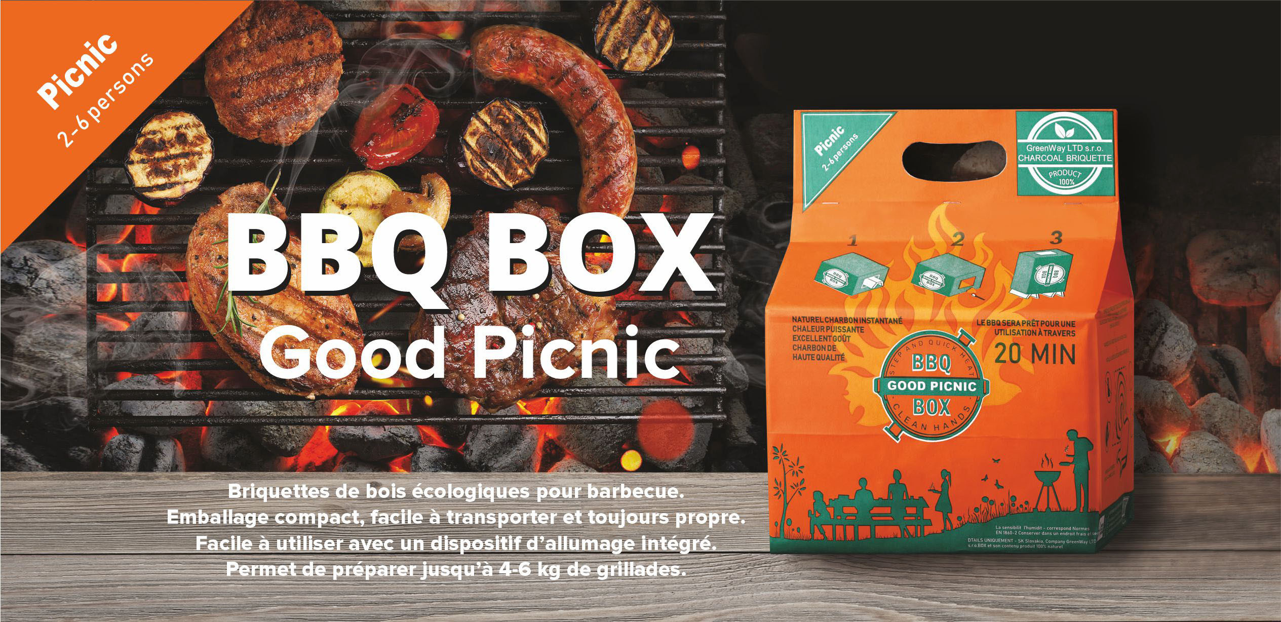 BBQ BOX Good Picnik