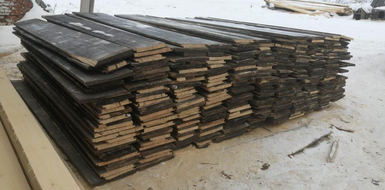 Recovered logs, posts and beams