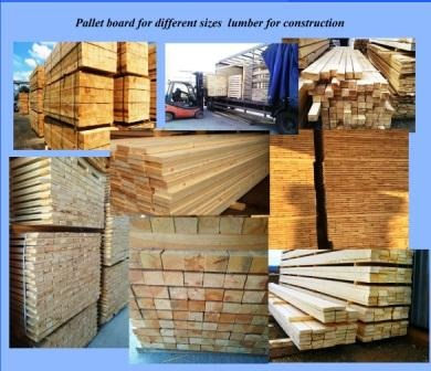 Lumber for production