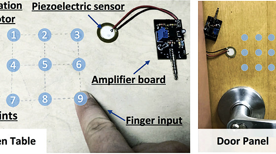 Transformation of ANY surface into a Biometric Sensor! Ingenious!