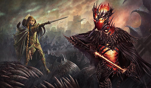 Witch King Playmat
