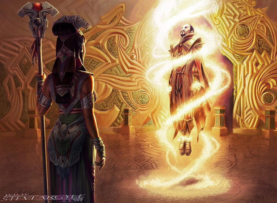 Bloodbraid Elf, for Magic the Gathering.  Artwork by Steve Argyle
