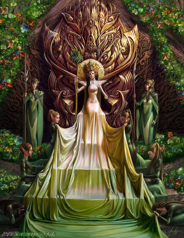 Lady Luthiel Feanis artwork