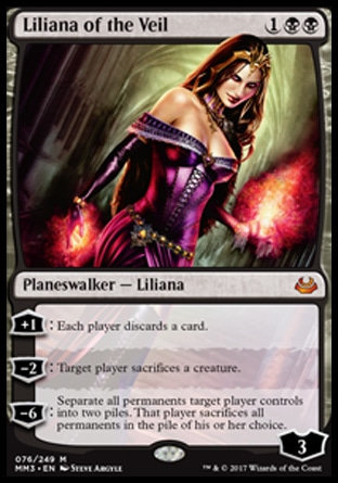 Liliana of the Veil Modern Masters 3 Artist Proof