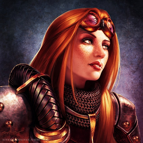 Chandra, not ablaze, Large Print
