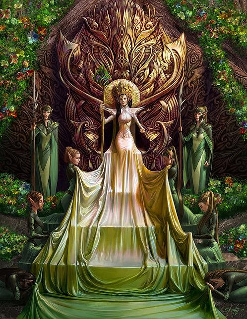 """Lady Luthiel Feanis, 20x30"""" Print"""