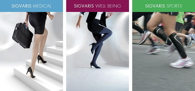 Sigvaris graduated therapy compression Socks in Vancouver Washington and Portland Oregon