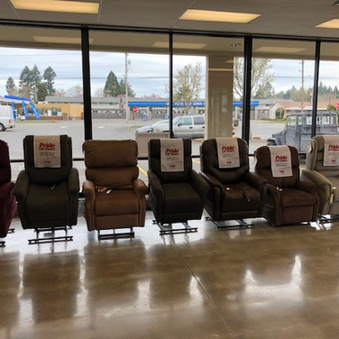 Vancouver Washington Medical Lift Chair Show Room