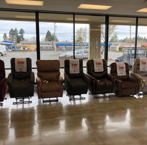 Vancouver Washington Medical Lift Chair Show Room