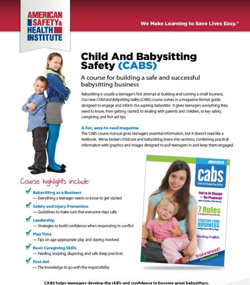 Babysitter training in Vancouver, Washington