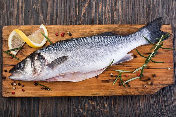 Sea Bass Whole Farmed - Fresh