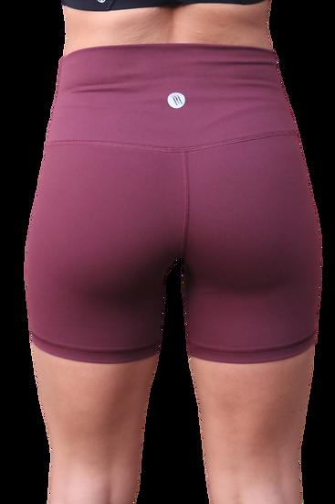 High Waist 6 inch shorts