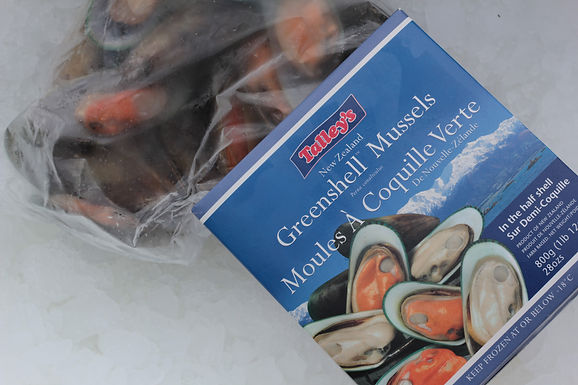 New Zealand Greenlip Mussels - Frozen