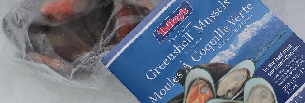 New Zealand Greenlip Mussels - Frozen
