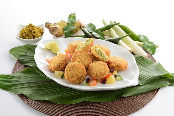 Thai Curry Seafood Cakes - Frozen