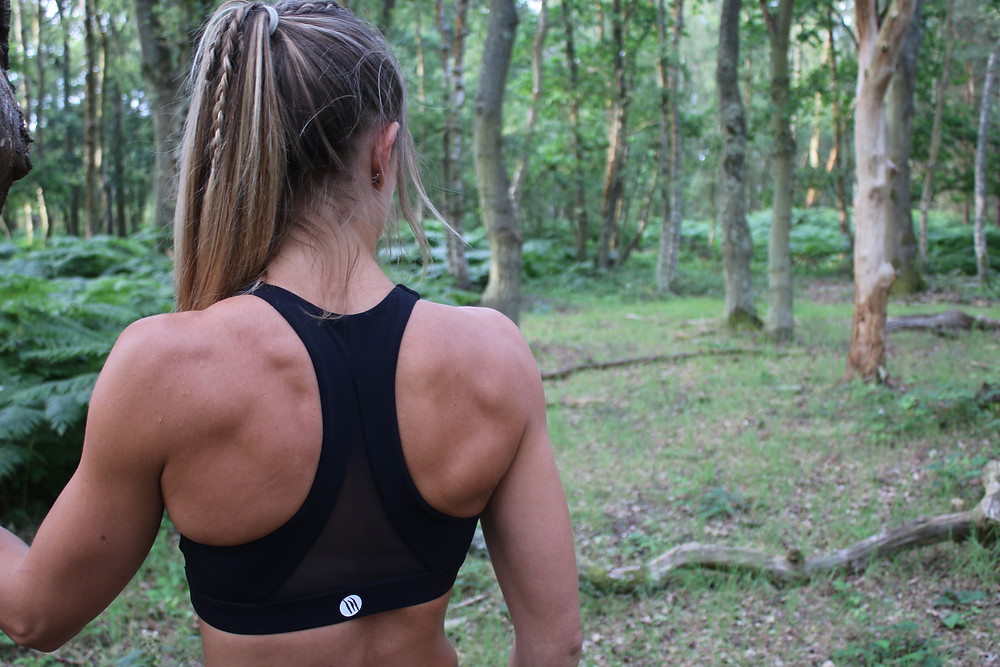 Sports bra's should include good coverage and support whilst still looking good.