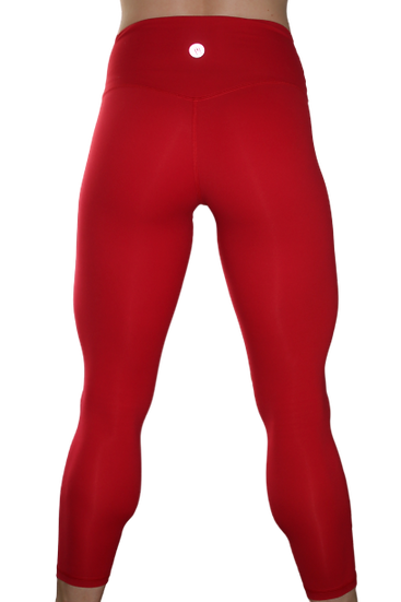 Summer Leggings Blood Red 7/8th