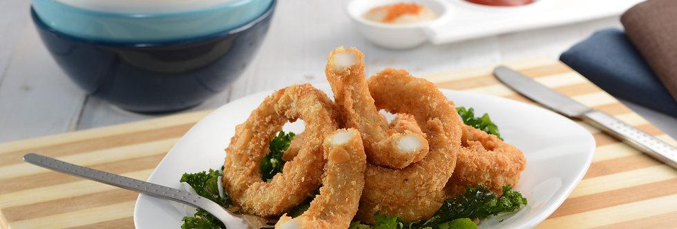 Panko Crumb Squid Rings - Frozen