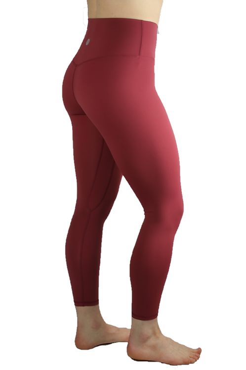Essential Leggings Maroon