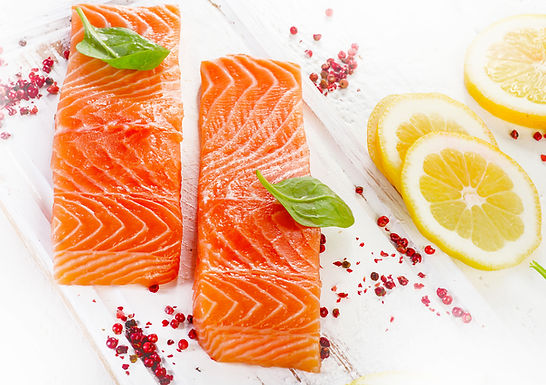 Salmon Portions Skinless/Boneless - Frozen