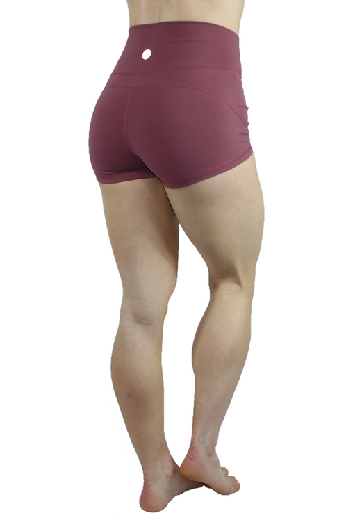 Root Booty Shorts Red